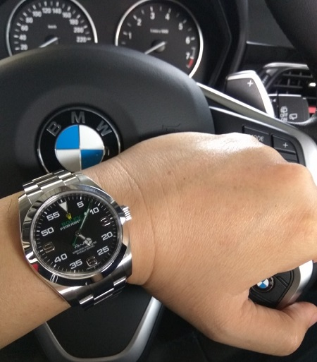 Rolex Air King 116900 BMW