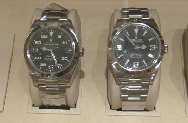 Rolex Air King versus Explorer