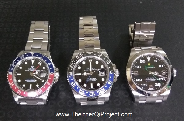 Rolex GMT Master II Batman Air King 116900 2017