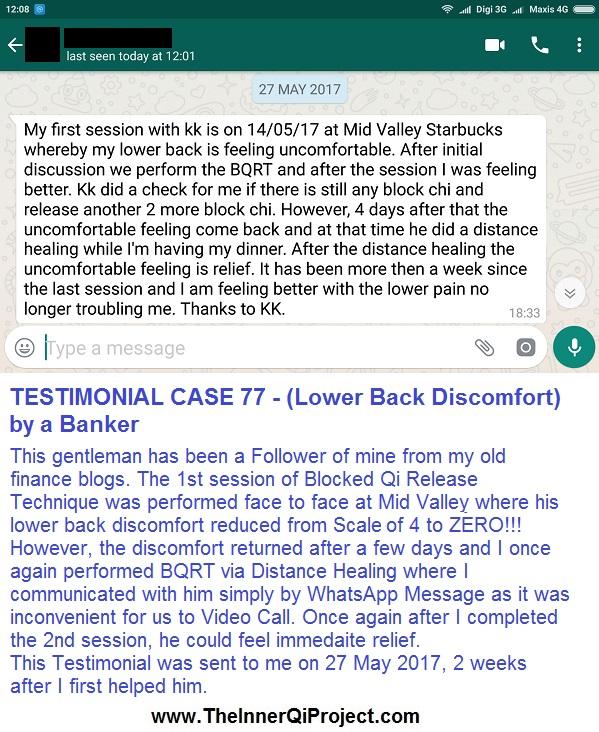 BQRT Testimonial Case 77