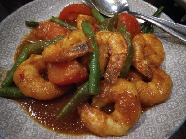 Melbourne Blue Chilles Asam Prawn