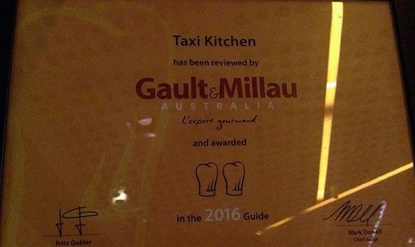 Melbourne Taxi Award