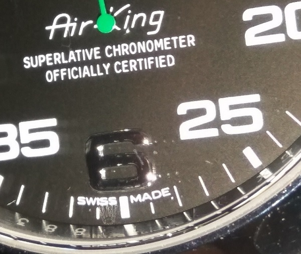 Rolex Laser Engrave Crown 2