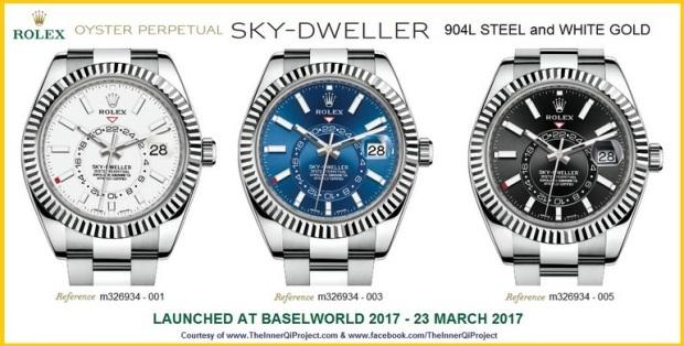 Rolex Sky Dweller 2017