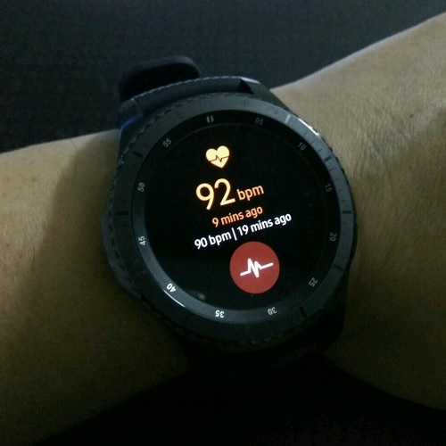 Samsung Gear S3 Health Heart Beat