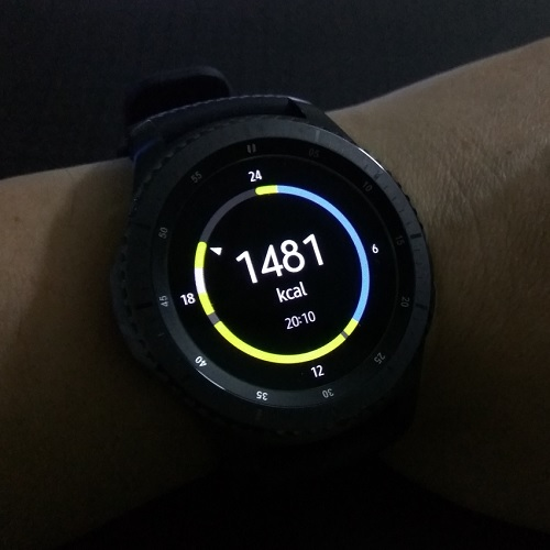 Samsung Gear S3 Health
