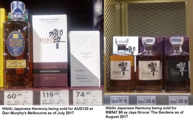 Hibiki Japanese Harmony Price Malaysia Melbourne