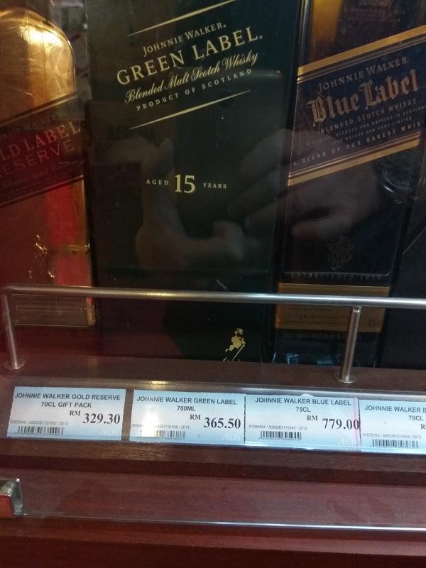 Johnnie Walker Green Label Malaysia