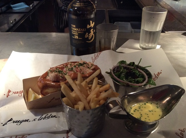 Yamazaki 18 at Burget Lobster London