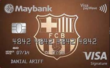 Maybank Visa Signature FC Barcelona Cash Back Credit Card Review