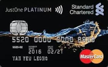 Standard Chartered Just One Platinum Cash Back Review